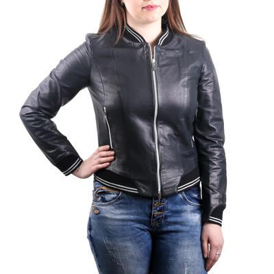 Куртка кожаная Baldinini L0275 оптом