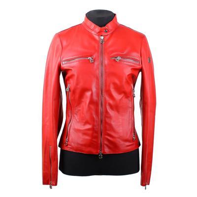 Куртка кожаная Baldinini N0662 оптом