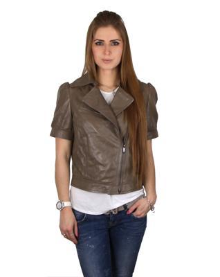 Куртка кожаная Baldinini G1048