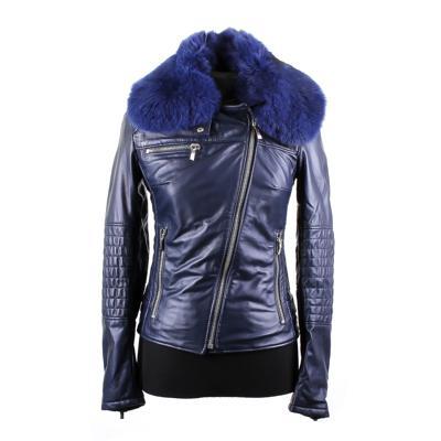 Куртка кожаная Loriblu W0063 оптом