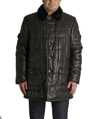 Куртка кожаная Baldinini I0481