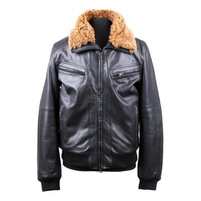 Куртка кожаная Gallotti T0430 оптом