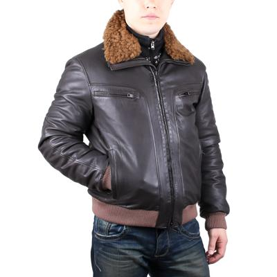Куртка кожаная Gallotti T0429 оптом