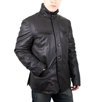 Куртка кожаная Gallotti T0434 оптом