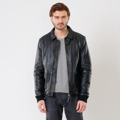 Куртка кожаная Interno42 X1519 оптом